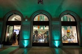 Bianchi fietswinkel geopend in Bergamo