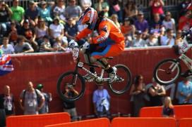 BMX rijders Redline halen medailles in Londen