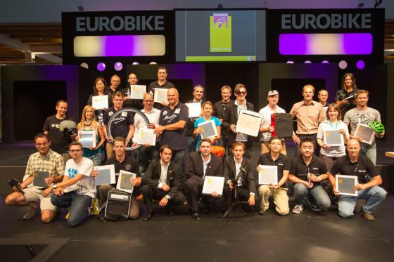 Acht Eurobike Gold Awards, geen Green Award