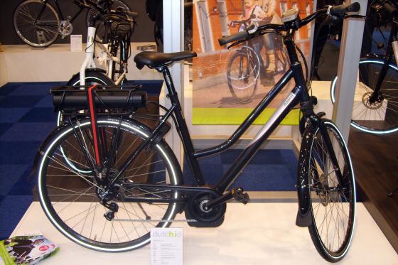 Grote actieradius voor Dutch ID Trekking+ e-bike