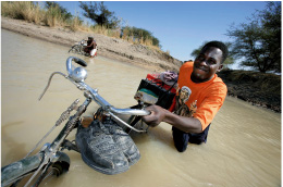 Kona doneert 100 Africa Bikes