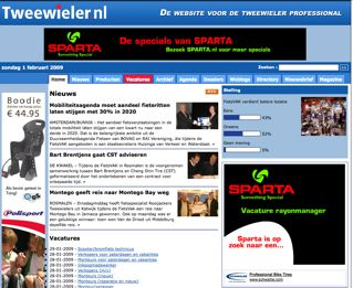 Pageviews Tweewieler.nl door 100.000-grens