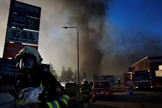 Tweewielerleveranciers getroffen door brand in Unionpand