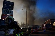 Brand voormalige Unionfabriek mogelijk opzet
