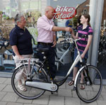 Raleigh Superbe voor prijswinnaars Bike Totaal sudoku puzzel