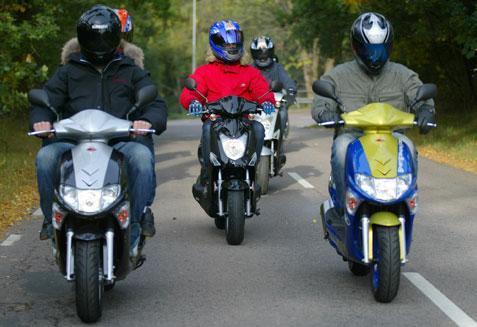 Kymco profiteert van groei scooterverkoop