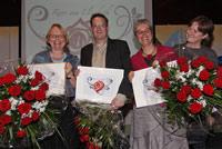 Roos voor vrijwilligers voor Peter Kamp