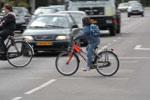 Kinderen fietsen minder