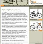 Gratis webwinkel Fietplusonline.nl voor Fietplus