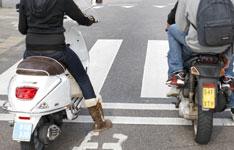 Groot deel jongeren zonder rijbewijs op scooter