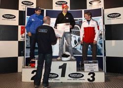Rens de Haas (Wielerhuis Liessel) wint laatste Unigarant Kart Challenge
