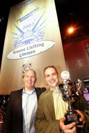 Kroone Liefting uitgeroepen tot 'Tweewielerwinkel van het Jaar 2007