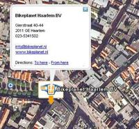 Amazing Wheels zet dealers op Google Earth-kaart