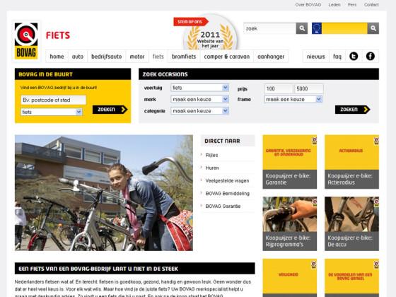 BOVAG brengt op Bike Motion handige site voor keuze e-bike onder aandacht bij consumenten