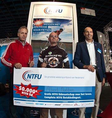 NTFU verwelkomt 50.000e lid door toenemende populariteit wielersport