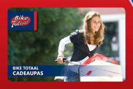 Bike Totaal cadeaupas vervangt papieren cadeaubon