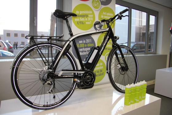 Bosch in e-bike training Tweewieler Academy dankzij Merida en Dutch-ID