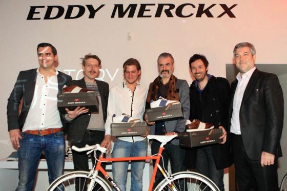 Eddy Merckx lanceert sneakerlijn