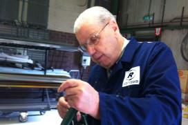 Henk Kluver 75 jaar fietsenmaker
