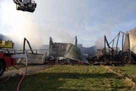 Pand Cok van den Heuvel afgebrand