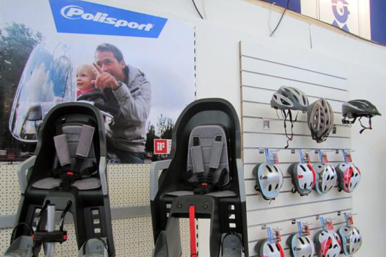 Polisport biedt alternatief voor fietszitjes
