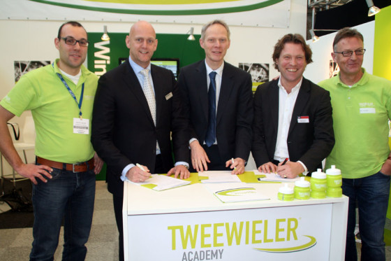 Bike Totaal en Biretco laten ondernemers toetsen door Tweewieler Academy