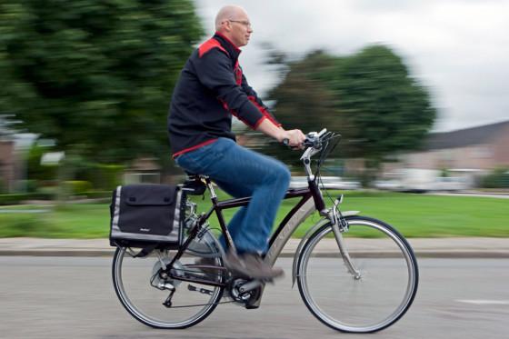 Proef met e-bike in Brabant succesvol