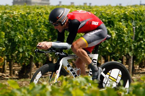 Lance Armstrong met Trek terug in triathlon