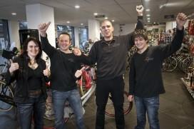 Op bezoek bij Marc Ermens Fietsen: Tweewielerwinkel van het Jaar 2012