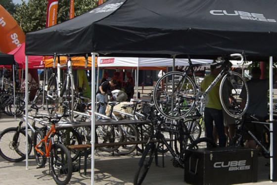 Giant, Trek, Pinarello, Cervelo en Cube op BikeFestival 2012