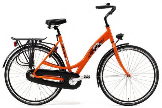 ALBA EK-fiets voor voetbalfans