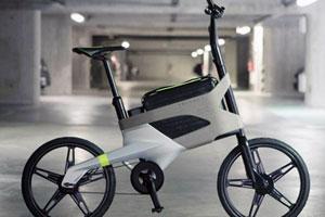 Peugeot e-bike met laptoptas