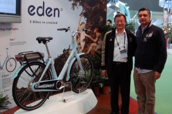 Nieuw e-bike merk Eden