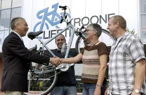 ANWB-winnares via Kroone Liefting een Giant rijker