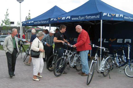 E-bikes testen op E-bike Testdag Groene Hart en ElektrischeFietsen.com Event