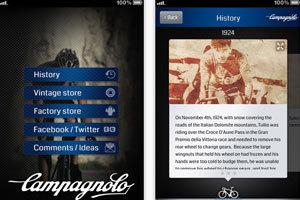 Campagnolo App gelanceerd