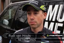 Het Multivan Merida Biking Team met Rudi van Houts tijdens de Word Cup Houffalize