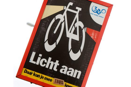 RAI Vereniging en BOVAG pleiten voor controle op fietsverlichting