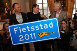 Fietsersbond zoekt Fietsstad 2014