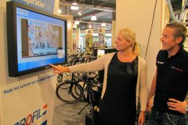 Eerste touchscreen applicatie in gebruik genomen bij Profile Van der Linde in Almere