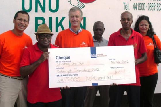 Nederlandse ambassade in Suriname steunt fietswerkplaats Unu Pikin Fietsen