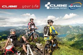 Cube Alpe d'Huez testcenter en consumentenactie met gratis liftpas