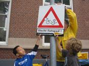 Fietserbond houdt actieweek Mijn Slechtste Fietspad