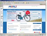Vernieuwde website Profile 'de Fietsspecialist
