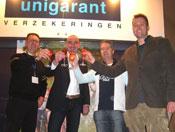Roelfs Tweewielers wint stedentrip Unigarant