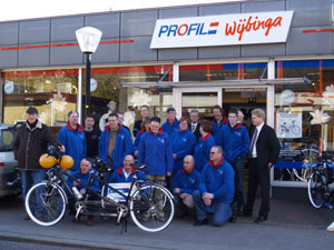 Multicycle tandems voor Stichting Phihezo