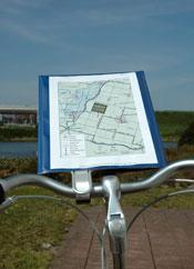 Printen en dan fietsen