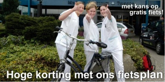 Opschudding rondom bedrijfsfietsenplan Medisch Spectrum Twente