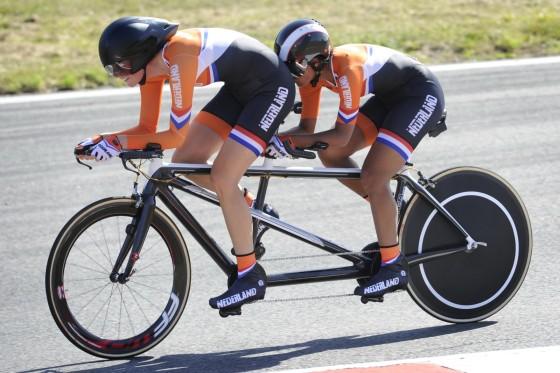 Paralympisch goud voor tandem met Shimano elektronisch schakelsysteem