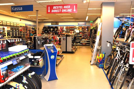Halfords start met webwinkel in België